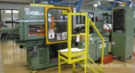 80 Ton Engel Injection Press, Item # 1246