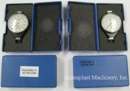 "Type ""A"" & Type ""D"" Durometers NEW , Item # 1253"