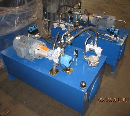 200 Gallon Hydraulic Units, New, Item # 1347