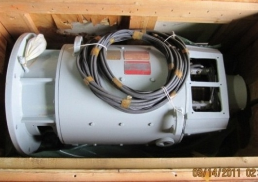 75 HP DC General Electric Motor, NEW. Item # 1387