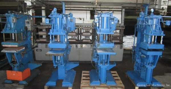 (2) 16″x16″ Albright Splicing Presses, Item # 1418