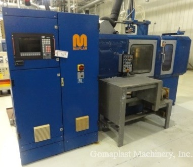 150 Ton/750cc Maplan Rubber Injection Press, Item # 1537