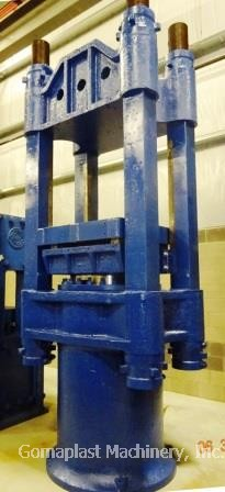 40″ x 40″ Press, Rebuilt, Item #1619