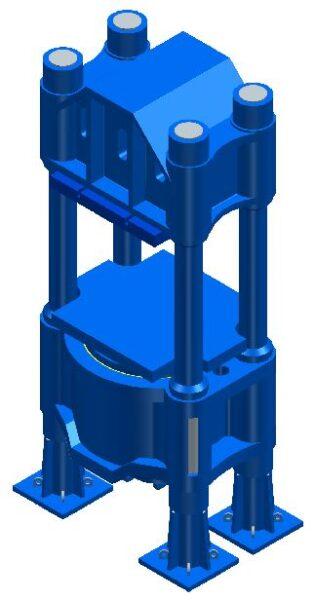 56″ x 60″ Adamson Press, Item #1642