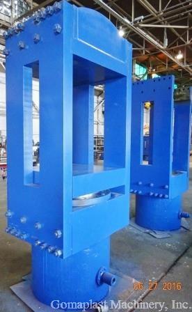 36″ x 36″ Rebuilt Slab Side Press, Item # 1654B