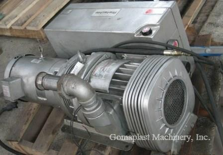 Rietschle Vacuum Pump with 10 HP Baldor Motor, Item # 1660