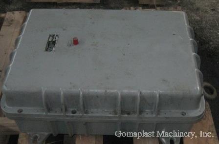 Reversing Motor Starter NEMA size 4 in Explosion Proof Box, Item # 1678