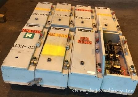 Motor Starters NEMA size 1 Lot, Item # 1681