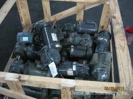 Electric Motors 1/2HP to 1HP Lot, Item # 1685