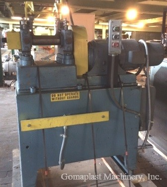 3″ x 8″ Thropp Rubber Mill, Item # 1689