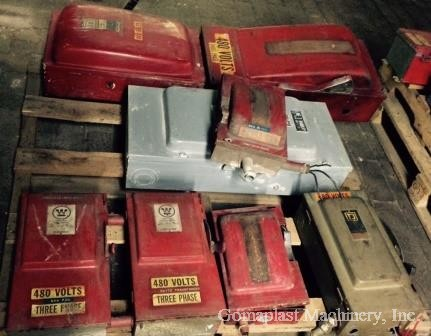 Fuse Boxes 480V/ 60-200 Amps lot (11 units), Item # 1693