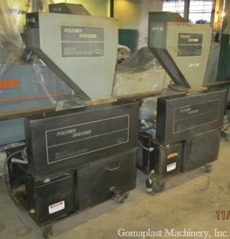 (2) Polymer Systems B.T.P. Granulators, Item # 1707