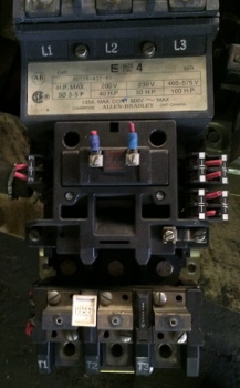 Motor Starter NEMA sizes 4, Item # 1715
