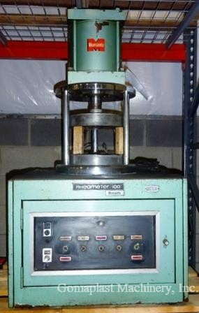 Monsanto Rheometer R-100, Item # 1742