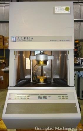 Alpha Technologies MDR 2000 Rheometer, Item # 1747