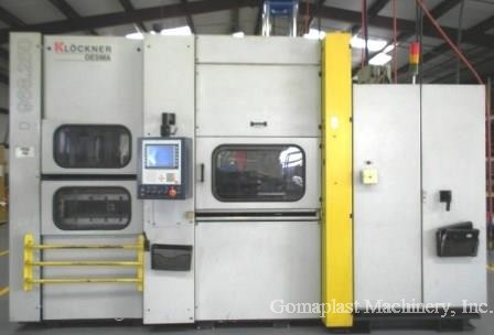 250 Ton/1000 cc Desma Injection Press, Item # 1761