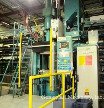 350 Ton/4 Lt. Rutil Injection Press, Item # 1774