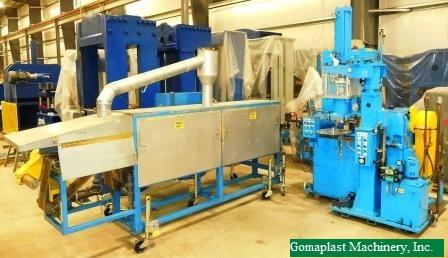 70mm Mitsuba Silicone/Rubber Extrusion & Curing Line, Item # 1806
