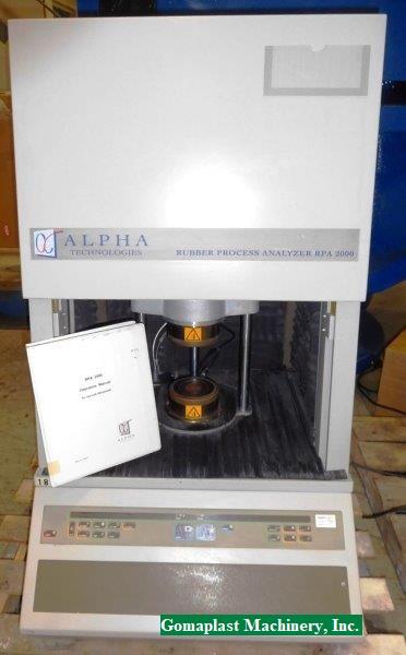 Alpha Technologies RPA 2000 Rubber Process Analyzer, Item # 1853