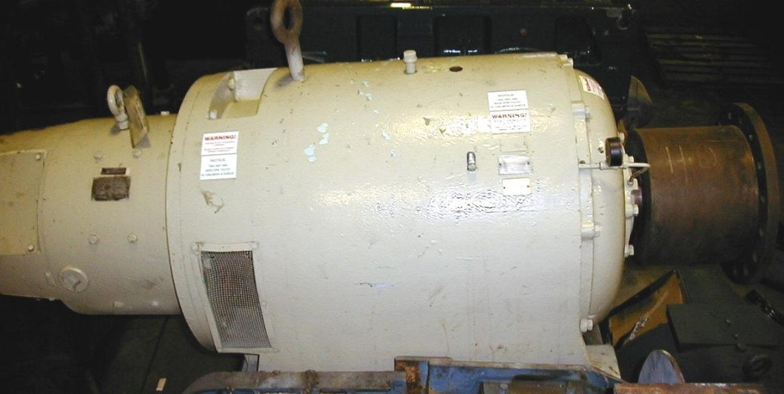 75 HP DC Kinematic GE Gear Motor, Item # 745