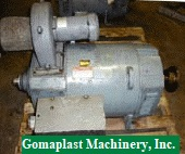 100 HP DC Kinematic GE Motor, Item # 747