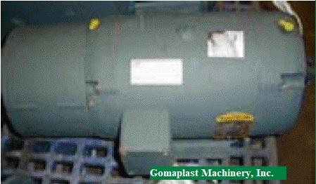 10 HP (8 KW) DC Baumuller Motor, Item #750