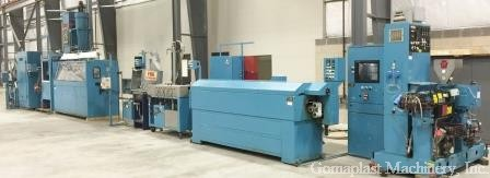 Flocking or Coating Extrusion Line, Item # 1461